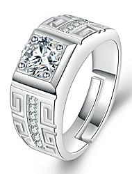 cheap -moissanite male ring domineering men's opening adjustable ring wedding ring