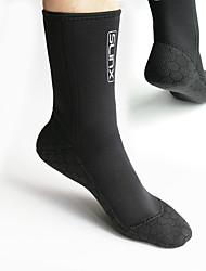 cheap -SLINX Neoprene Socks 3mm Neoprene Anti-Slip Quick Dry Diving Surfing Snorkeling Scuba - for Adults