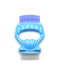 cheap -Dog Cat Brushes Grooming Cleaning Pet Grooming Brush ABS+PC Brush Dog Clean Supply Pet Hair Remover Easy to Use Removing Matted Tangled Self Cleaning Pet Grooming Supplies Blue