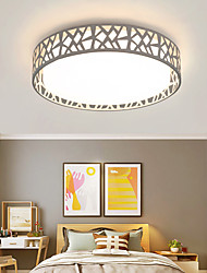 cheap -LED Ceiling Light Modern Simple Round Includes Dimmable Version Flush Mount 18 Inch 30W Round Decoration Lighting Acrylic lampshade for Kitchen Hallway Bedroom Stairways AC110V AC220