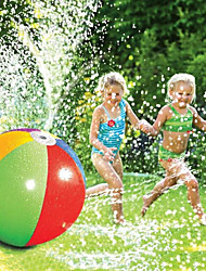 cheap -Splash and Spray Ball, 30in-Diameter Inflatable Sprinkler Water Ball Outdoor Fun Toy for Hot Summer Swimming Party
