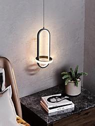 cheap -LED Pendant Light Bedside Lamp Black Gold 35 cm Single Design Pendant Light Aluminum Artistic Style Modern Style Painted Finishes Artistic Modern 110-120V 220-240V