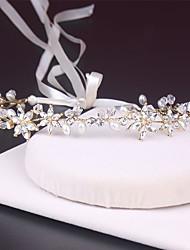 cheap -Bride Headdress handmade Jewelry Alloy Rhinestone Headband Wedding Dress Wedding Accessories Photo Studio Photo