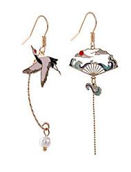 cheap -Women's Mismatch Earrings Stylish Earrings Jewelry Gold For Date Festival