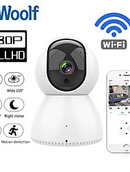 cheap -2021 HOT 1080P IP Camera Wifi Home Security Alarm White IP Camera Surveillance Wifi Night Vision CCTV Camera Baby Monitor