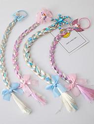 cheap -wig female european and american style braid hair rope hair accessories princess frozen children's princess twist braid head rope headdress