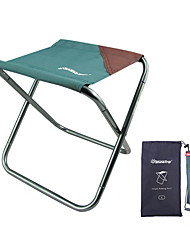 cheap -Camping Stool Portable Ultra Light (UL) Multifunctional Foldable Oxford 7075 Aluminium Alloy for 1 person Fishing Beach Camping Traveling Autumn / Fall Winter Dark Green Coffee / Breathable