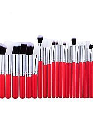 cheap -makeup brush set profession makeup brush set tools make-up toiletry kit cosmetic brush eye brush makeup brush set professional (color : red)