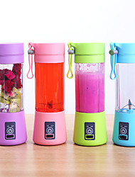 cheap -Usb Rechargeable Blender Mixer Blades Juicer Bottle Cup Juice Citrus Lemon Vegetables Fruit Smoothie Squeezers Reamers