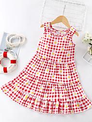 cheap -children's cotton silk dress, princess dress, girl's nightdress, cake dress, new dress, western style, big children's suspender skirt