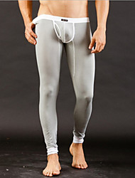 cheap -Men's Normal Modal / Spandex Sexy Long Johns Solid Colored Low Waist / 1 PC