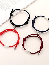 cheap -Couple Jewelry Mutual Attraction Rope Braided  Magnetic Bracelets for Women Men