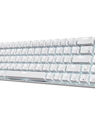 cheap -RK68 Wireless Bluetooth Mechanical Keyboard Gaming Gateron Blue Switches 65% Compact 18 Diversified Light Effects 3 on-board Macro Keys Software DIY-ROYAL KLUDGE