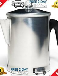 cheap -heavy duty stove top percolator yosemite flexible coffee maker pot aluminum cup