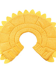 cheap -Dog Cat Pet Cone Pet Recovery Collar Elizabeth circle Adjustable Stress Relieving Safety Anti-Bite Lick Wound Healing After Surgery Protective Walking Daisy Cotton Small Dog Yellow