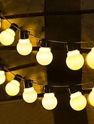 cheap -Solar Outdoor Waterproof 5M 3.5M G50 Retro Bulb LED String Lights Christmas Dorm Party Street Garden Patio Outdoor Wedding Decorative Holiday Lighting
