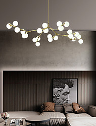 cheap -LED Pendant Light Nordic Black Gold Chandelier Metal LED Modern Style 110-240 V