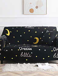 cheap -Sofa Cover Stretch Slipcovers The Starry Sky Print Dustproof  Super Soft Fabric Couch Cover Fit for 1to  4 Cushion Couch and L Shape Sofa (You will Get 1 Throw Pillow Case as free Gift)