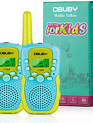 cheap -Walkie Talkies for Kids, 22 Channels 2 Way Radio Kid Toy Gift 3 KMs Long Range with Backlit LCD Flashlight Best Gifts Toys