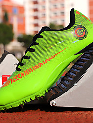 cheap -Unisex Trainers Athletic Shoes Sporty Look Casual Athletic Track & Field Shoes PU Breathable Non-slipping Wear Proof Blue Orange Green Spring