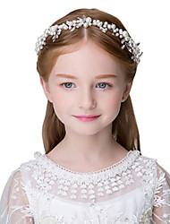 economico -accessori per capelli delle neonate dei bambini abiti da sposa per bambini nuovi accessori per capelli copricapi di perle damigelle d'onore delle ragazze di fiore accessori per capelli delle ragazze