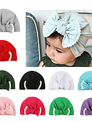 cheap -2018 new european and american baby products baby bow lace knotted hedging hat indian hat children hat