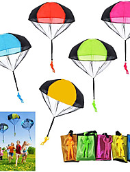cheap -10 PCS Children's Flying Toys Tangle Free Throwing Hand Throw Parachute Army Man Toss It Up and Watching Landing Outdoor Toys for Kids Gifts