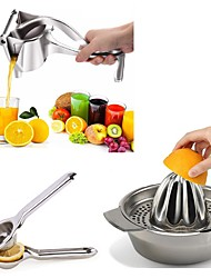 cheap -Juicer Handhold Orange Lemon Juice Maker Stainless Steel Manual Squeezer Press Squeezer Citrus Juicer Home Kitchen
