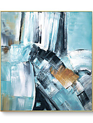 cheap -100% Hand painted Hot Selling Artist High Quality Abstract Oil Painting on Canvas Handmade Beautiful Light Color Oil Painting