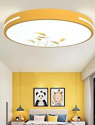 cheap -LED Ceiling Light Round 40 cm Lantern Desgin Flush Mount Lights Metal Painted Finishes Modern 110-120V 220-240V