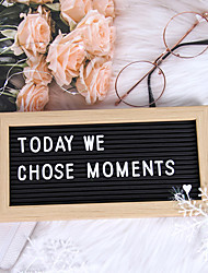 cheap -1 Set Contains The Letters Felt Letter Board 26*13.5cm