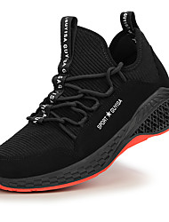 cheap -Unisex Trainers Athletic Shoes Classic Chinoiserie Office & Career Safety Shoes Suede Non-slipping Wear Proof Booties / Ankle Boots Black Spring Summer