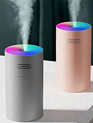 cheap -Air Humidifier Set USB Colorful Cup Mini Aroma Water Diffuser LED Light Ultrasonic Cool Mist Maker Fogger Car Aroma Humidificador