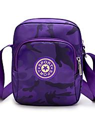 cheap -Women's Unisex Bags Crossbody Bag Daily 2021 MessengerBag Black Blue Purple Blushing Pink