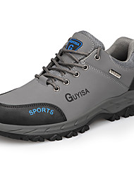 cheap -Unisex Trainers Athletic Shoes Classic Chinoiserie Office & Career Safety Shoes Leather Waterproof Non-slipping Wear Proof Booties / Ankle Boots Black Grey Fall Spring