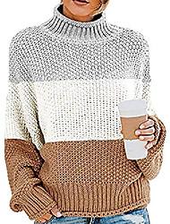 cheap -dresswel sweater ladies elegant turtleneck sweater knitted sweater chunky sweater loose knitted sweater long sleeve sweater tops