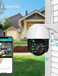 cheap -new 1080 wireless wifi dome camera surveillance camera rainproof outdoor ptz remote control small body dual-light night vision