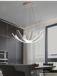 cheap -LED Pendant Light 60 cm Cluster Design Aluminium Alloy Stylish Painted Finishes Modern 220-240V
