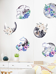 cheap -Wall Sticker Chinese Style Ink Painting Art DIY Bedroom Porch Wall Beautification Decorative Wall Sticker