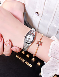 cheap -ladies watch diamond small dial steel band quartz watch casual simple temperament watch