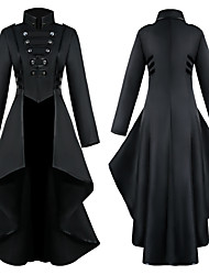 cheap -Movie / TV Theme Costumes Medieval Coat Women's Costume Black / Red / Blue Vintage Cosplay Festival