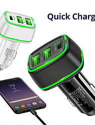 cheap -Fast Charger USB Charger For For Cellphone QC 3.0 Fast Charge 38 W Output Power