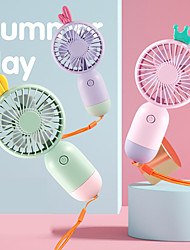 cheap -Mini Fan Portable for Fan Handheld Electric USB rechargeable fan Appliances Desktop Air Cooler Outdoor Travel hand fan