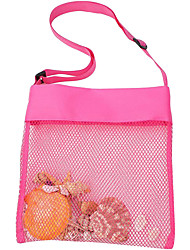 cheap -Beach Toys Shell Bags Beach Bag for Kids Colorful Mesh Beach Bags Kids Seashell Mesh Bag for Kids Storage Shell Fruit Vegetable Or Toys Market Grocery Picnic Tote 1pc