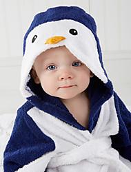 cheap -Flannel Bathrobe for Baby, Cute Penguin Soft Absorbent Home Wear Children's Animal Bathrobe