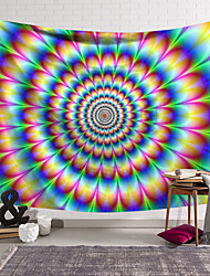 cheap -Psychedelic Abstract Wall Tapestry Art Decor Blanket Curtain Hanging Home Bedroom Living Room Decoration Polyester Swirl