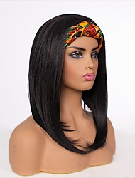 cheap -european and american style wigs female chemical fiber long straight hair with hood wig cover wigs