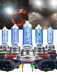 cheap -2PCS 100W Car Halogen Light Bulbs H1 H7 H8 H11 9005 HB3 9006 HB4 LED Auto Fog Light Headlight Lamp 12V White 6000K Super Bright