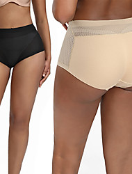 cheap -Fake Ass Mid-waist Abdomen and Hip Shaping Pants Women's Seamless One-piece Style Flat-angle Hip-beauty Beam Shaping Panties
