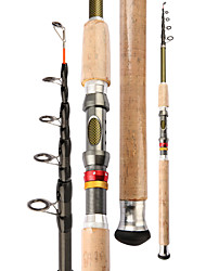 cheap -Fishing Rod Telescopic Rod 210/240/270/300/360 cm Carbon Fiber Portable Lightweight Sea Fishing Lure Fishing Freshwater and Saltwater